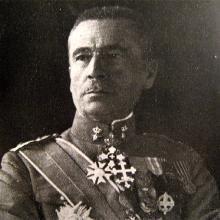 Italian General Ernesto Mombelli, Commander of Corpo di spedizione italiano in Macedonia (in the office since May 1917)