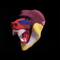 Mind-Blowing 3D Matchstick Sculptures - Photo - TechEBlog