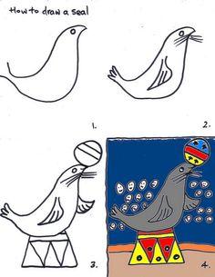 Lesson 11 Circus Seal by traqair57, via Flickr