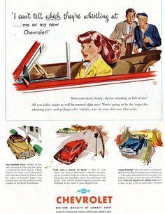 Vintage #Chevy Ad - LindsayChevrolet.com