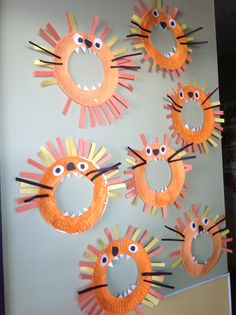 Lion preschool activity | Craft Ideas | Pinterest