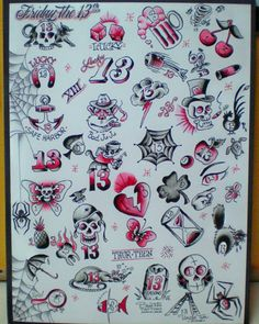 friday the 13th tattoos - Google Search