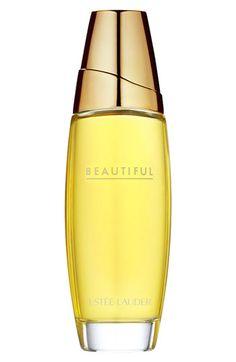 Beautiful de Estée Lauder es una fragancia de la familia olfativa Floral para Mujeres.  Las Notas de Salida son grosellas negras, notas afrutadas, casia, gálbano, bergamota, limón, rosa, mandarina y azucena; las Notas de Corazón son mimosa, magnolia, clavel, nardos, flor de azahar del naranjo, manzanilla, narciso, fresia, lila, jazmín, violeta rosa, salvia, neroli, caléndula, ylang-ylang, lirio de los valles y geranio; las Notas de Fondo son sándalo, almizcle, vainilla, vetiver, cedro y…