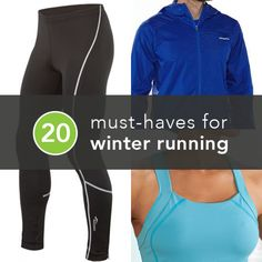 Running in Winter? Snow Problem! 20 Must-Have Items for Cold-Weather Running | Greatist