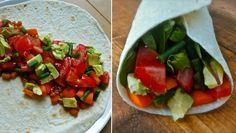 Recept voor gezonde vegetarische/veganistische wraps! Recipe for healthy vegan wraps!! After the click -->