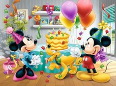 Diamond Painting Kit Cartoon A Party Diamond Embroidery Full Round Drill Cross Stitch Kit Mosaic Happy Birthday Disney, Mickey Birthday, Birthday Balloons, Happy Birthday Cards, Friend Birthday, Birthday Greetings, Birthday Wishes, Birthday Kids, Disney Birthday Quotes
