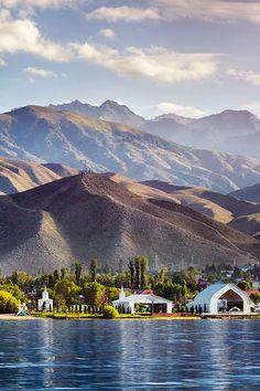 "Found on Lake Issyk Kul ""Ruh Ordo"" Cultural Center translates to ""spiritual center"" in Kyrgyz #Asia #Kyrgyzstan"