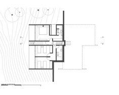 House in the Dune,Floor Plan