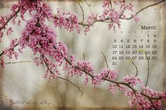 Free March 2013 Desktop Calendar