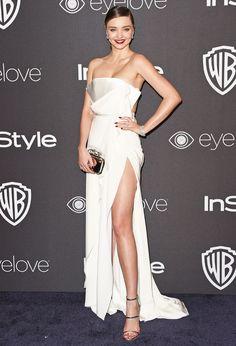Miranda Kerr's wedding dress will definitely be beautiful. Here, we predict what she will wear to marry Evan Spiegel.