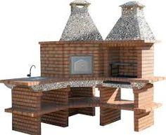 Image result for asador de ladrillo materiales