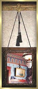 Picture Rail Medallions Picture Hangars Pinterest