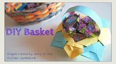 fancy oragimi baskets - YouTube