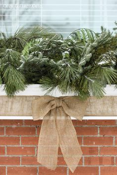 Cozy.Cottage.Cute.: My Winter Window Box - A Simple Tutorial