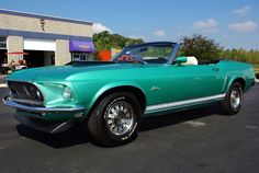 1969 Mustang GT convertible.