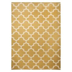 Maples Fretwork Area Rug only 7x10 also in tan and grey