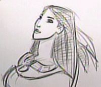 THE ART OF GLEN KEANE.: POCAHONTAS
