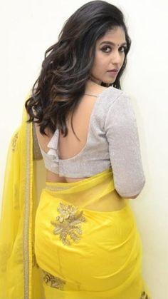 Indian Actress Pics, South Indian Actress, Beautiful Indian Actress, Indian Actresses, Indian Long Hair Braid, Braids For Long Hair, Beautiful Blonde Girl, Beautiful Girl Image, Bollywood Designer Sarees
