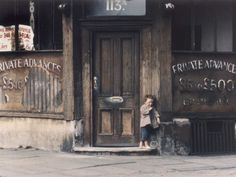Scruffy little boy in a Run-Down Shop at Manchester, Shirley Baker. Color Photography, Street Photography, Shirley Baker, Old Photos, Vintage Photos, Romantic Images, Street Portrait, Old Street, Documentary Photography