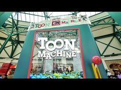 Marketing de Guerrilha: Pra comemorar seu aniversário, a Cartoon Network colocou uma máquina de brinquedos de 7 metros de altura no meio do shopping com um os papais como garras e os filhos controlando o joystick. Venceu Cannes, claro. =)