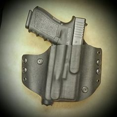 Glock 23 in a Tactical Pancake Holster from WW Tactical Systems. wwtacticalsystems.com