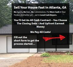 Sell My House Fast Atlanta - We buy houses Atlanta - Nice Guys Buying Houses Sell My House Fast, Selling Your House, We Buy Houses, Atlanta Homes, Home Buying, A Good Man, Real Estate, Guys, Nice