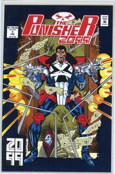 The Punisher 2099 (Marvel, 1993) #1
