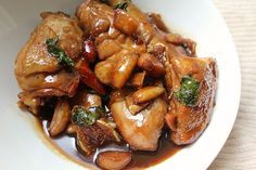 How to make Taiwanese Three Cup Chicken (San Bei Gi) #recipe
