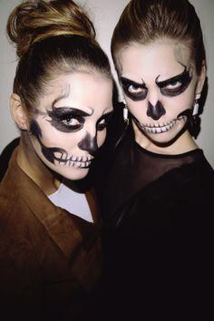 Last-Minute Halloween Makeup: Glam Skeleton   StyleCaster
