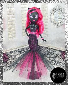 Hey, I found this really awesome Etsy listing at https://www.etsy.com/listing/226461179/monster-doll-the-cats-meow-high-fashion