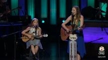 the Two young girls sings one of Johnny Cash songs I think every one will like this and much as I do ,they are so great