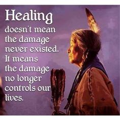 Healing quote.