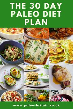 30 day paleo meal pl