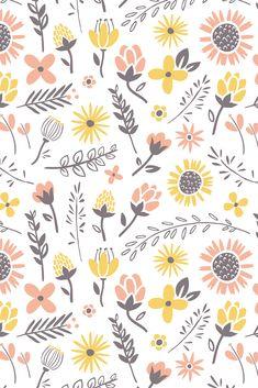 Spring flower phone wallpaper