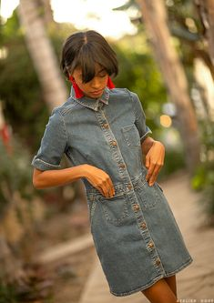 Three Looks with Candace Reels Tomboy Fashion, Denim Fashion, Plane Outfit, Style Me, Cool Style, Mode Jeans, Love Hat, Haute Couture Fashion, Fashion Story