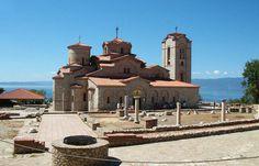Saint Panteleimon, Ohrid Lake, Macedonia