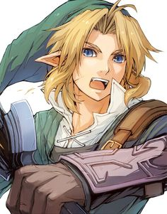 Nintendo Video Game. Link from Legend of Zelda.