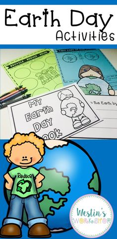 These Earth Day Activities are perfect for the primary classroom. Through these activities, students will learn about the importance of Earth Day and identify things he/she can do to help our Earth. Everything in this resource is little to NO PREP!