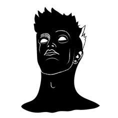 #instadraw #drawing #dibujo #drawingoftheday #dessin #doodle #sketch #illustration #blackandwhite #black #minimal #lessismore #head #retrato #portrait #instaart #artist #artistofinstagram #artsy #art #mood #instamood #graphic #design #handrawn #adrawingaday #asketchaday #dailydraw by dailysketchcro