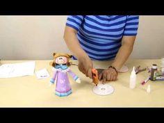 ¡PARTE 3!: Fofucha Angelita para eventos Bautizos Primera Comunión