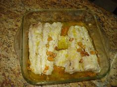 MERLUZA AL MICROONDAS Microwave Recipes, Lasagna, Ethnic Recipes, Food, Tortillas, Veggie Omelette, Baked Fish, Food Drink, Cooking Recipes