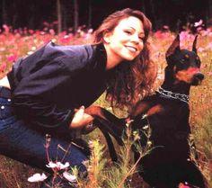 Mariah Carey and Dobie