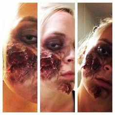7 days, 7 faces day 1/7 #sfx #sfxmakeup #makeup #makeupoftheday