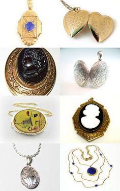 #Antique engraved locket @bohemiantrading #jewelry