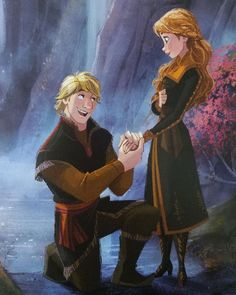 Kristoff's marriage proposal to Anna from Frozen 2 Frozen Anna And Kristoff, Disney Princess Frozen, Disney Princess Pictures, Disney Pictures, Disney Princesses, Disney Movie Scenes, Disney Movies, Disney And Dreamworks, Disney Pixar