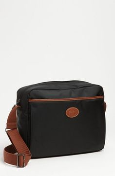 $160, Longchamp Le Pliage Crossbody Bag Black. Sold by Nordstrom. Click for more info: https://lookastic.com/women/shop_items/72019/redirect