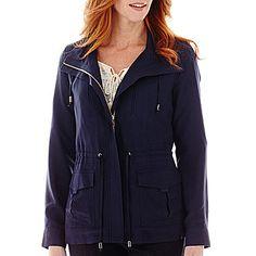 jcp | St. John's Bay® Soft Anorak Jacket