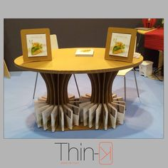 home design by www.thin-k.it cartonboard table  tavolo in cartone