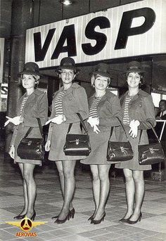 Vasp - Brasil Airlines. I was 12 yrs. old when our family went to Brazil by Vasp. I have a demi-tasse cup/saucer from the airline too.