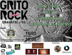 Flyer Grito Rock Gravataí 16 de março de 2014  (CC BY-SA) Grito Rock
